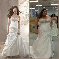 Real Women/Real Brides Alfred Angelo Dress 2360!