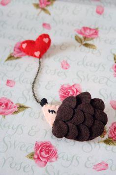 Hedgehog pin