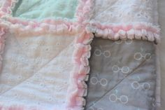 Your place to buy and sell all things handmade Pheonix Feather, Puffy Quilt, Baby Rag Quilts, Heather Ross, Girl Nursery, Special Gifts, Baby Shower Gifts, Harry Potter, Sweet