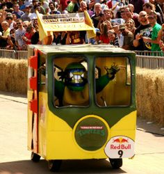 """Red Bull Soap Box Derby >> davy jones wearing a 'happy fingers' hat from the movie """"The 5000 Fingers Of Dr. T ..."""