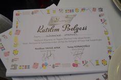 Yeşilyurt AVM Hobi Atölyesi Katılım Belgesi