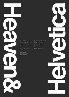 Bvd for 60th Anniversary Helvetica Typeface
