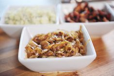 Toppings for a Macaroni and Cheese Party.Caramelized Onions, Gorgonzola Cheese Crumbles, and Sweet, Smoky Bacon. Macaroni Cheese, Macaroni And Cheese, Mac Cheese, Blue Cheese, Cheese Bar, Gorgonzola Cheese, Pesto Pasta, Caramelized Onions, Coffee Recipes