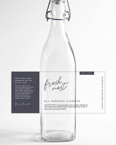 Your brand should reflect your values right? We sure think so. ⠀⠀⠀⠀⠀⠀⠀⠀⠀ Our previous client is a non-toxic zero waste cleaning service that runs on the idea that fresh is a feeling, not a smell. They believe that as businesses and individua Cosmetic Labels, Cosmetic Packaging, Beauty Packaging, Food Packaging Design, Packaging Design Inspiration, Brand Packaging, Web Design, Label Design, Jar Labels