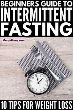 10 Intermittent Fasting Tips for Beginners | If you're looking for a sustainable weight loss plan that offers additional health benefits, the 16:8 intermittent fasting plan may be for you. It can help decrease visceral fat, improve cognition and brain function, decrease insulin resistance, lower blood pressure and cholesterol, and reduce inflammation, and this post has everything you need to get started! Quick Weight Loss Tips, Weight Loss Plans, Fast Weight Loss, Lose Weight, Loose Belly Fat, Getting Back In Shape, Visceral Fat, High Calorie Meals, Insulin Resistance
