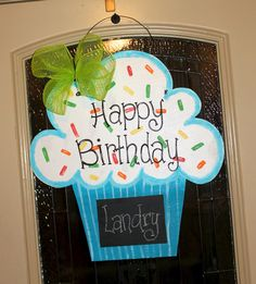 Celebrate your next birthday with this aDOORable cupcake chalkboard sign!  Great for classrooms or gifts!  Visit our Etsy shop today to order!