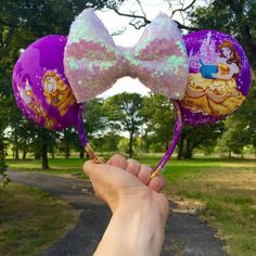 Beauty and the Beast Ears  Can't wait to wear these to Enchanted Tales with Belle!