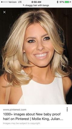 Mid length blonde hair Mollie King this style but bit longer Mid Length Blonde Hair, Medium Length Layered Hair, Medium Length Hair Blonde, Layered Haircuts For Medium Hair, Layered Haircuts Shoulder Length, Medium Cut, Mollie King Hair, Medium Hair Styles, Short Hair Styles