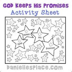 God keeps his promises children's lesson - - Yahoo Image Search Results
