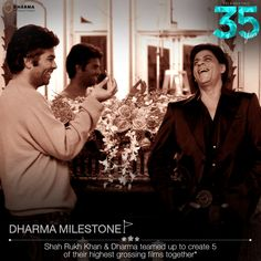 This duo gave us some of the best memories.  #35YearsOfDharma