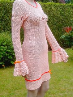 Hey, I found this really awesome Etsy listing at https://www.etsy.com/pt/listing/191906471/salmon-and-orange-dress-long-sleeve-in