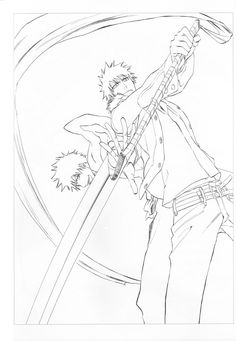 Bleach Coloring Pages #94708, Anime | Kids Pedia | Coloring pages ... | 341x236