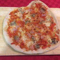 Receta de pizza casera deliciosa