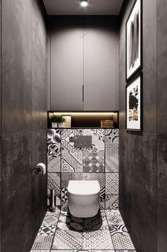 Washroom Design, Bathroom Tile Designs, Bathroom Design Luxury, Simple Bathroom, Modern Bathroom Design, Small Toilet Design, Small Toilet Room, Toilette Design, Wc Design