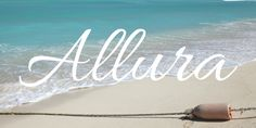 Download Allura Font · Free for commercial use · Allura is the script format of the Allura Pro family. Like other designs by Rob Leuschke, Allura is stylized, yet very legible. Alternate styles of th