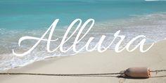 Allura Font · Aiden's Name