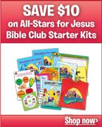 Love this Bible curriculum...I used to work for this company and they do great stuff.