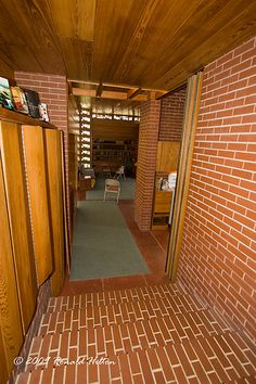 Pope-Leighey House. 1939, Falls Church, Virginia. Usonian Style. Frank Lloyd Wright