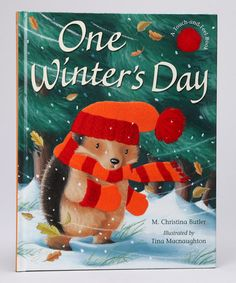 Take a look at this One Winter's Day Hardcover by Bargin Books on #zulily today!