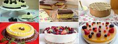 JULIA Y SUS RECETAS: 6 deliciosas tartas sin horno