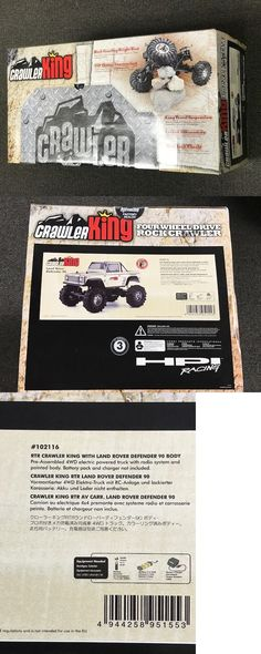 Other Models and Kits 774: Hpi #102116 Rtr Crawler King With Land Rover Defender 90 Body -> BUY IT NOW ONLY: $200 on eBay!