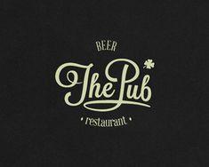 ThePub Logo Design | More logos http://blog.logoswish.com/category/logo-inspiration-gallery/ #logo #design #inspiration