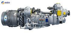 Pratt & Whitney PW100 Turboprop Engine Model