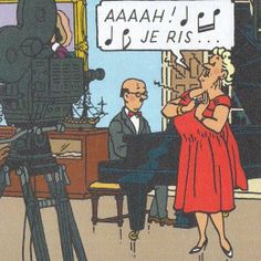 La Castafiore, la diva de Tintin