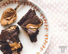 Tuhdit suklaabrowniet keksitahnalla #brownies