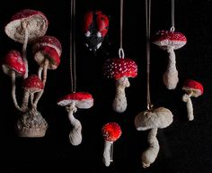 My new collection of toadstools mushrooms 🍄 Jewelry!!!!! I love this colors.@mysouldesignart #mysouldesignart #mysouldesign #bijouxparis #bijouxparis #mushroompendants #mushroombrooch #toadstoolsjewelry #textileart #textilart #textiljewelry #jewelryhandmade #uniquebijoux #fiberjewelry #fiberpendant #natalialubieniecka