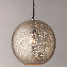 Buy John Lewis Lyra Etched Metal Ceiling Light Online at johnlewis.com £110