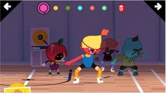Toca Dance is our new favorite app for kids from Toca Boca! Kids dress and choreograph their own dance troop and it's awesome.