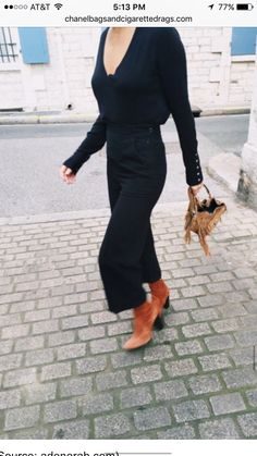 Those boots with all black
