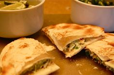 Brian's Crab & Spinach Quesadillas-Duo Dishes