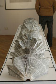 Folded Dictionary: Sam Winston's work is extraordinary