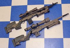 Springfield M1A Scout and Remington 700 w/ JAE stocks
