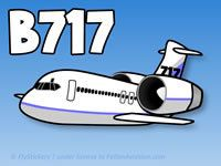 Fallon Aviation - Pudgy Boeing 717 Sticker - Boeing Livery, $3.95 (http://www.fallonaviation.com/stickers/pudgy-airplane-stickers/pudgy-boeing-717-sticker-boeing-livery/)