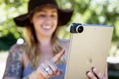 Lente Olloclip 4 en 1 para iPhone y iPad
