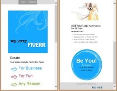 athihan12: create your mobile website from $5, on fiverr.com Create Yourself, Web Design, Ads, Marketing, Website, Logos, Design Web, Logo, Website Designs