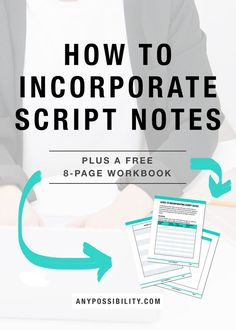 How to Incorporate Script Notes. Have you finished a draft of your screenplay? Trying to make sense of your reader's feedback? Check out the full post by clicking through the image above.