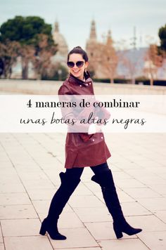 4 maneras de combinar un bolso granate Marta Barcelona Style