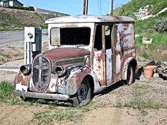 1938 Ford milk truck