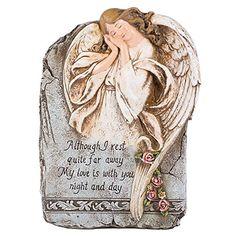 "9"" Memorial Angel Garden Stone with Verse Joseph's Studio http://www.amazon.com/dp/B005GKXUOW/ref=cm_sw_r_pi_dp_KPIyvb0G6RMMZ"