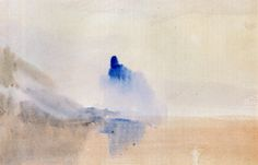 William J.M. Turner Study of a Castle by a Lake