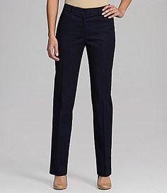 Jones New York Signature Petites Straight AnglePocket Pants #Dillards