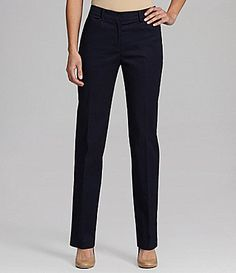Jones New York Signature Petites Straight AnglePocket Pants #Dillards