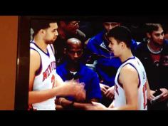 Jeremy Lin and Landry Fields' Nerdy Handshake