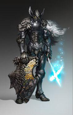 Magic knight by Gin-sensei