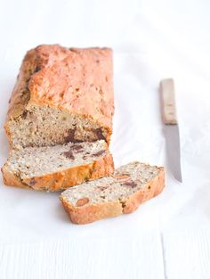 Home Made: No Knead Bread - Uit Pauline's Keuken Pureed Food Recipes, Baking Recipes, Snack Recipes, I Love Food, Good Food, Yummy Food, Healthy Sweets, Healthy Baking, Healthy Banana Bread