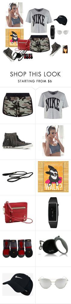 """workout attire"" by gaya-vas ❤ liked on Polyvore featuring New Look, NIKE, Converse, Nina.B.Roze, Ruffwear, Mix No. 6, Nicole Miller and Chicnova Fashion"